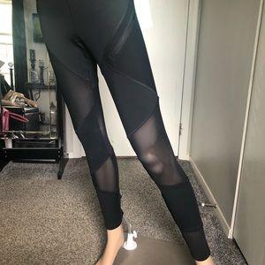 Forever 21 Mesh Workout Leggings